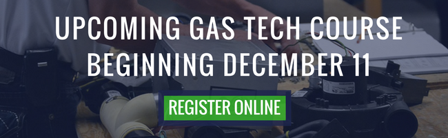 full time gas techincican training november