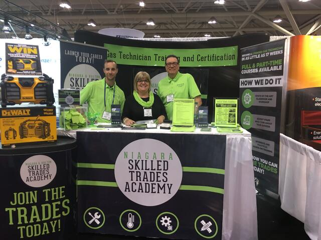 skilled trades academy at CMPX skilled trades show